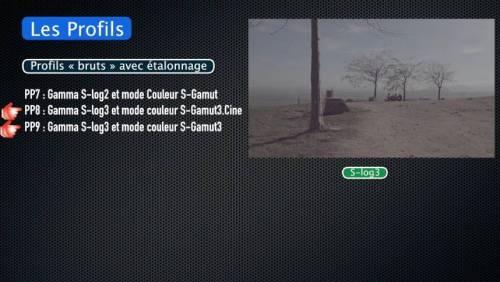 Tuto Sony FDR-AX700-NX80-Z90 : Picture Profile, Gamma HLG