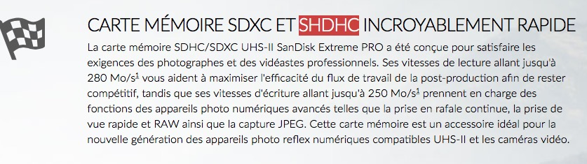 besoin d 39 aide carte sd sandisk non reconnue pour le 4k. Black Bedroom Furniture Sets. Home Design Ideas
