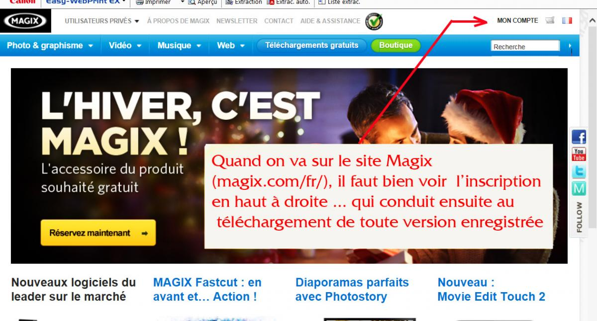 telecharger apres formatage magix video deluxe forums magazinevideo com. Black Bedroom Furniture Sets. Home Design Ideas